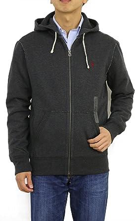 Polo Ralph Lauren - Sudadera con capucha y cremallera (talla M ...