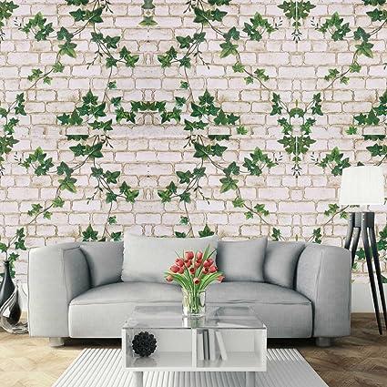 74723a6a66f Papel Pintado de Pared Empapelado Autoadhesivo Pegatina Mural 3D Ladrillo  Paneles Decorativos Wallpaper Extraíble Impermeable Decoración