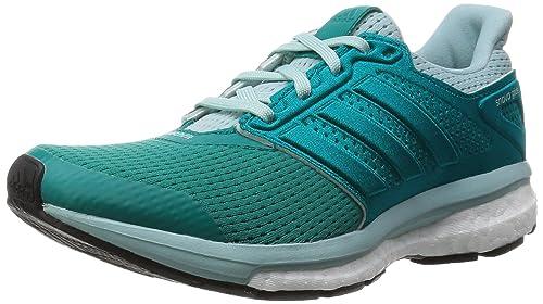 Adidas SS16 Womens Supernova Glide Boost 8 Running Shoes - Equipment Green  - Neutral - US 6e743c27f