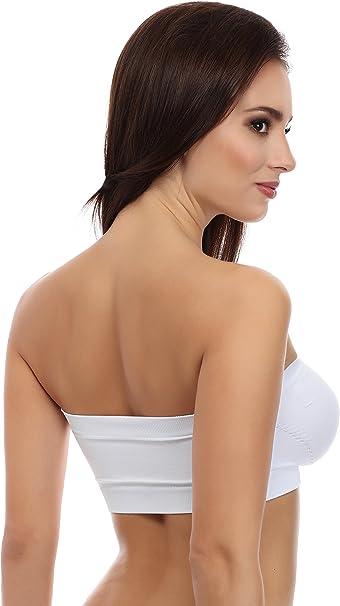 Merry Style Bandeau Soutien-Gorge sans Bretelles Dos Nu Top Femme 06 161