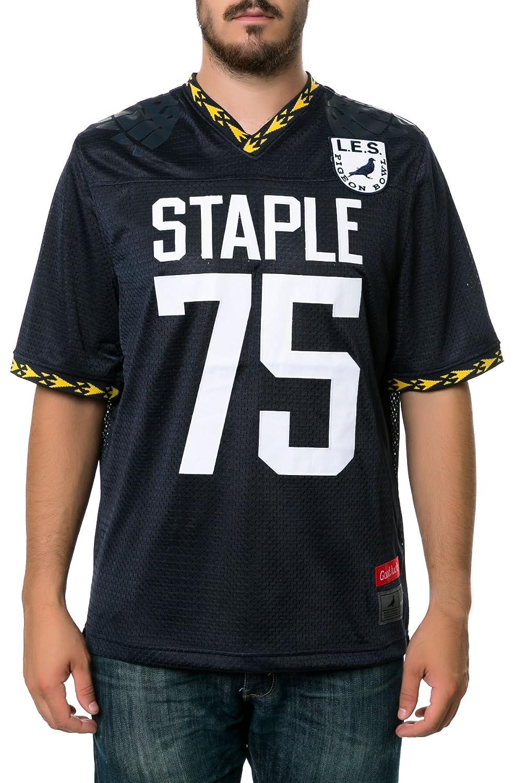 Staple SHIRT メンズ B00NBIU9T0ネイビー 3L