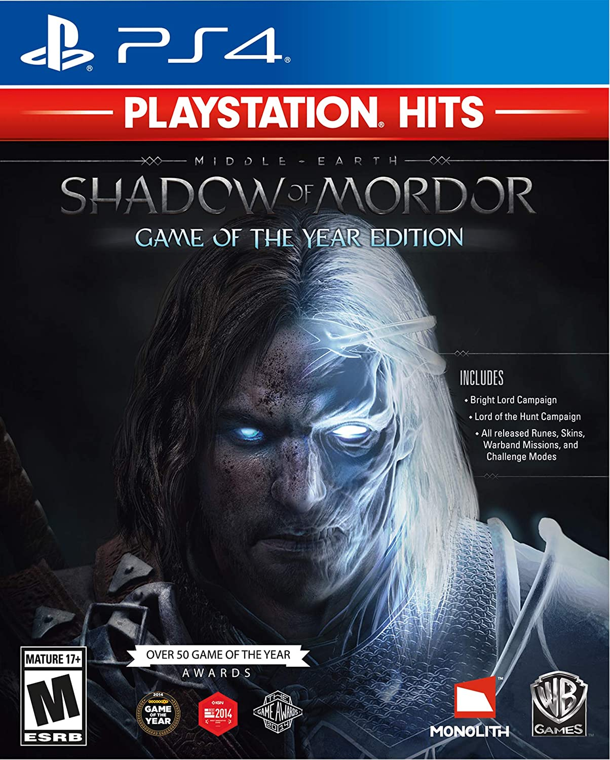 Amazon com: Middle-Earth: Shadow of Mordor - Game of the