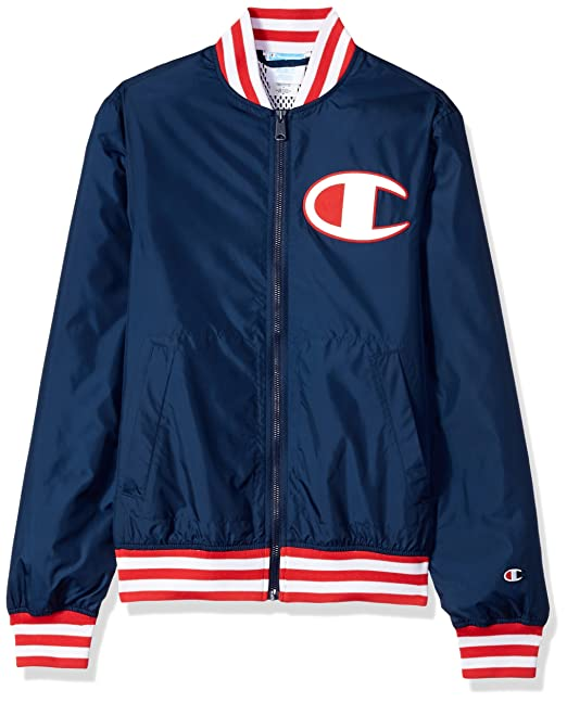 2f580110333 Champion LIFE Men s Satin Baseball Jacket