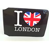 "Tarjetero para tarjeta Oyster con el texto en inglés ""I Love London"""