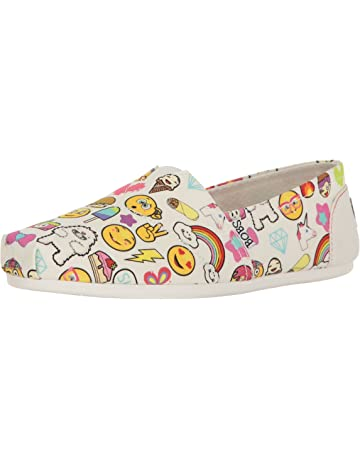 61daaeab30 BOBS from Skechers Women s Plush Fashion Slip-On Flat