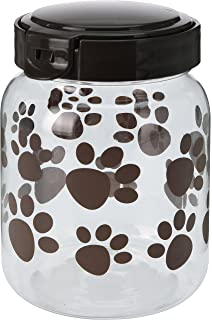 900ml Paws Design Plastic Pet Dog Puppy Dry Food Storage Box Container  (Single)