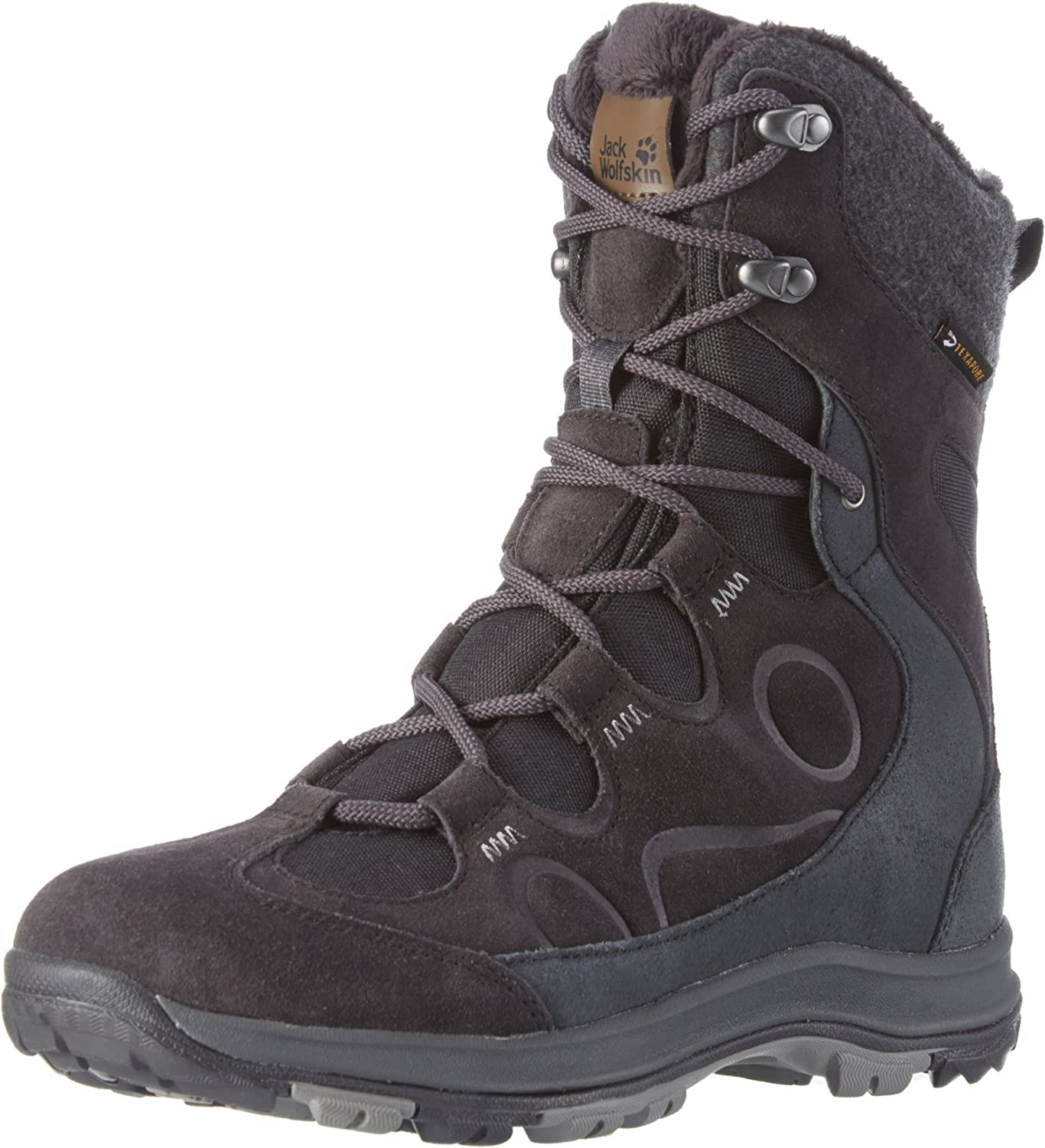 Jack Wolfskin Women s Thunder Bay Texapore HIGH W Fashion Boot, Phantom, 7 D US