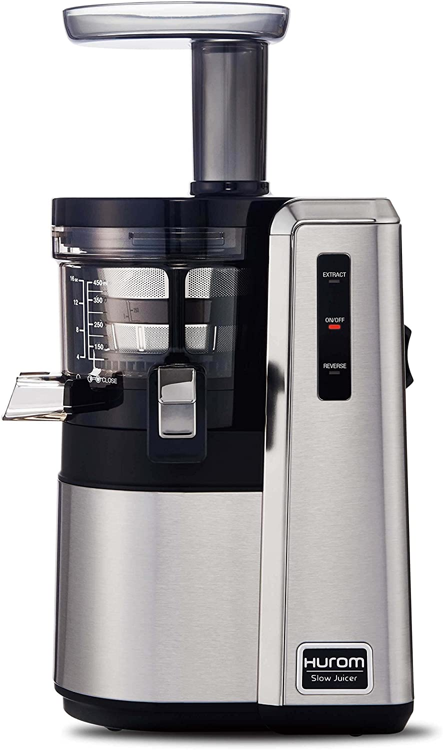 HUROM HZ Slow Juicer, Silver (Renewed)