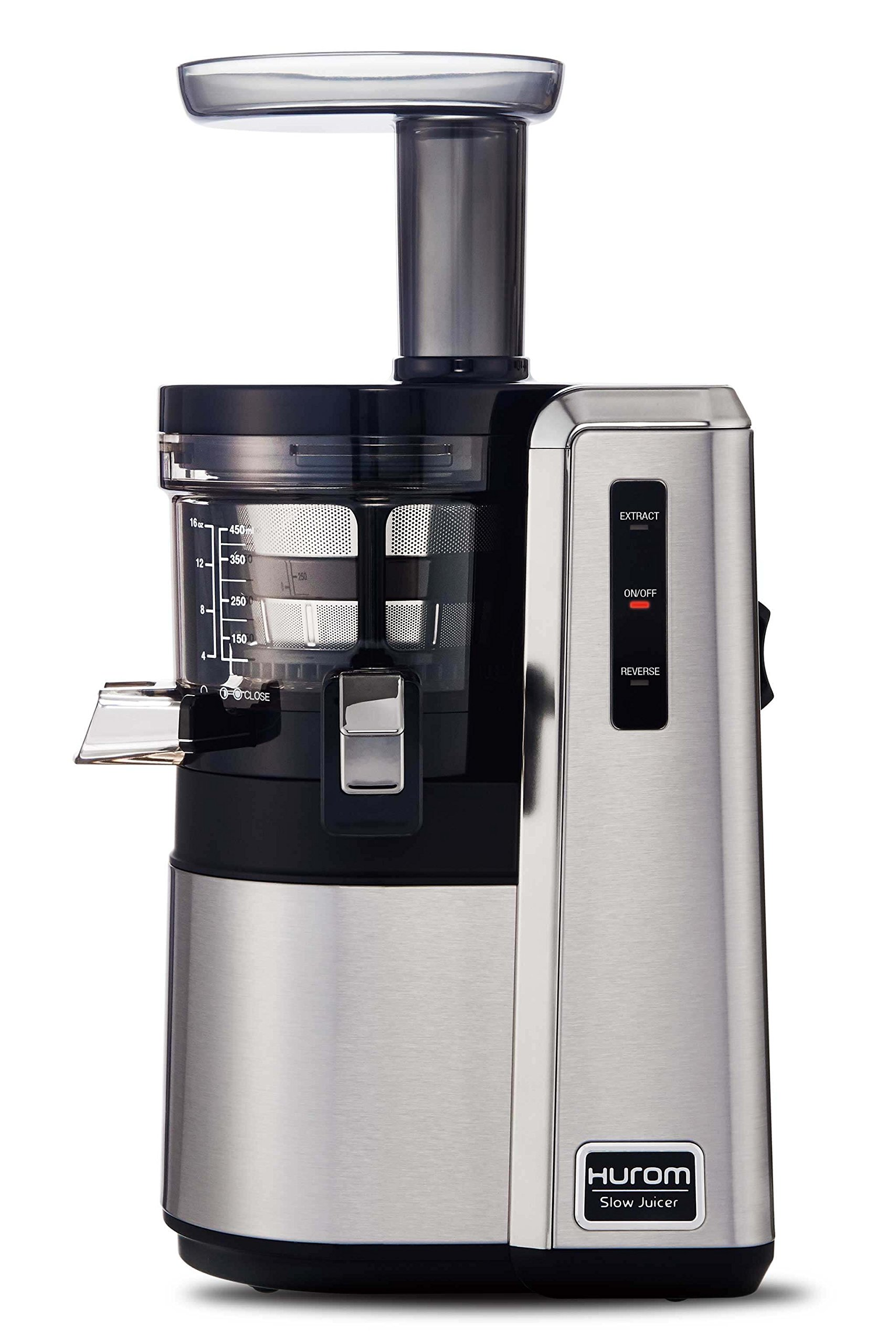 HUROM HZ Slow Juicer, Silver by Hurom
