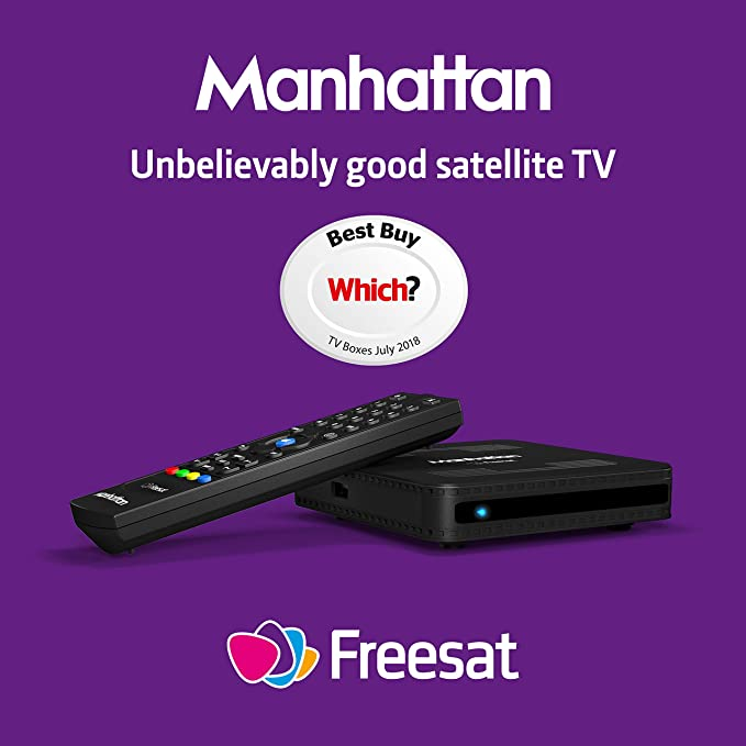 Manhattan SX Freesat HD Box