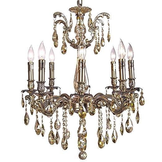 Amazon.com: Joshua Marshal 700117-008 - Lámpara de araña con ...