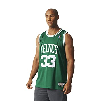 4f8a095101d5 adidas Men s Larry Bird Retired Jersey - NBA Boston Celtics Green