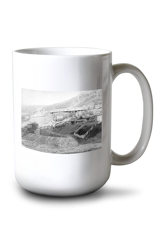 De Smetゴールドスタンプミル中央市の写真 15oz Mug LANT-3P-15OZ-WHT-5737 B077RSPNBT  15oz Mug