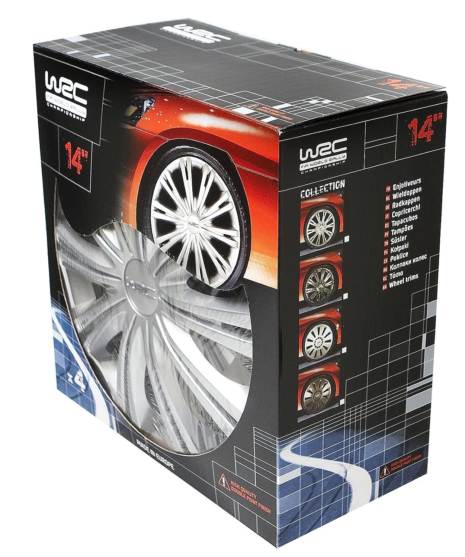 WRC 007455 Tapacubos (4 unidades) 15 pulgadas (4 unidades): Amazon.es: Coche y moto