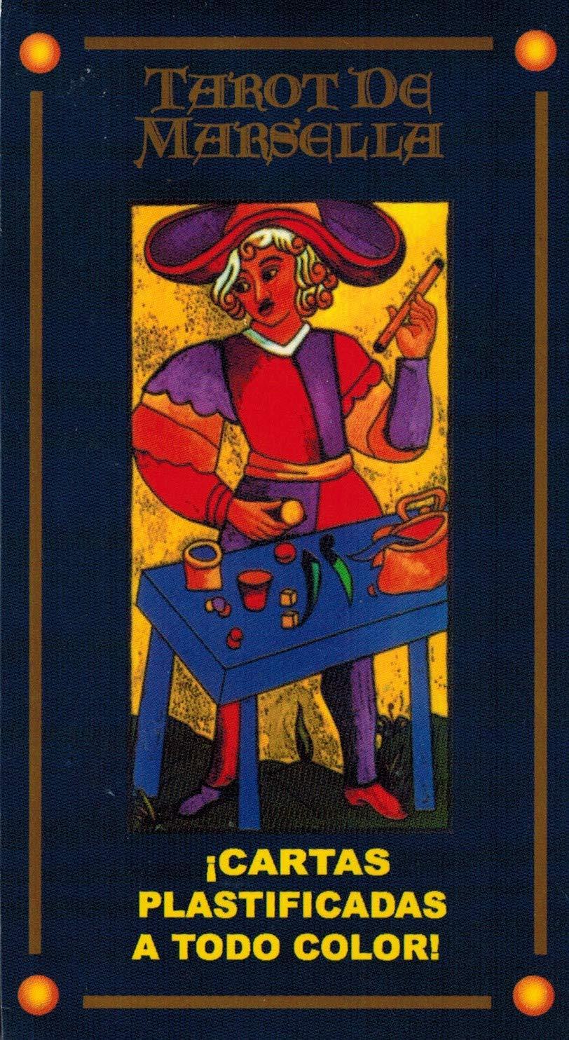 Tarot Marsella 78 cartas plastificadas e impresas a 6 tintas ...