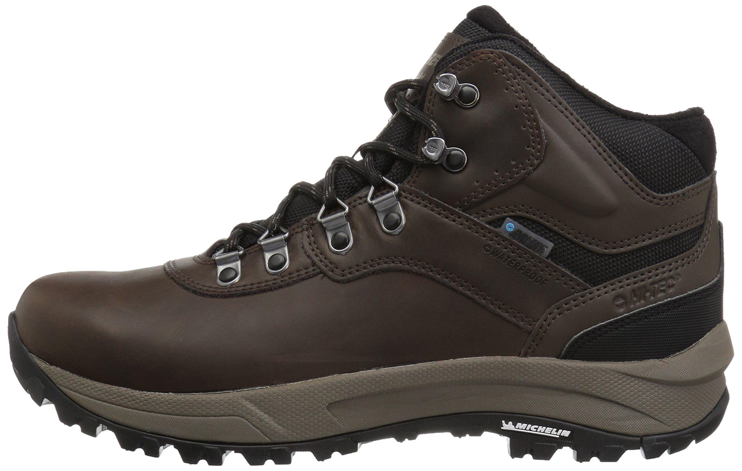 Hi-Tec Men's Altitude VI I Waterproof Hiking Boot, Dark Chocolate, 9.5 D US by Hi-Tec (Image #5)