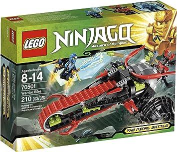 Amazon.com: Juego LEGO Ninjago Warrior Bike 70501: Toys & Games