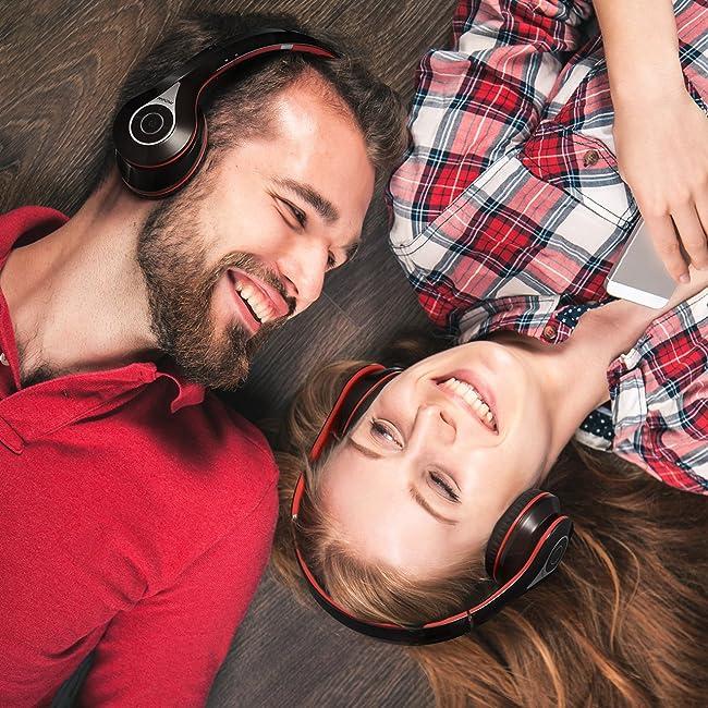 Mpow Bluetooth Headphones Over Ear, Hi-Fi Stereo Wireless Headset