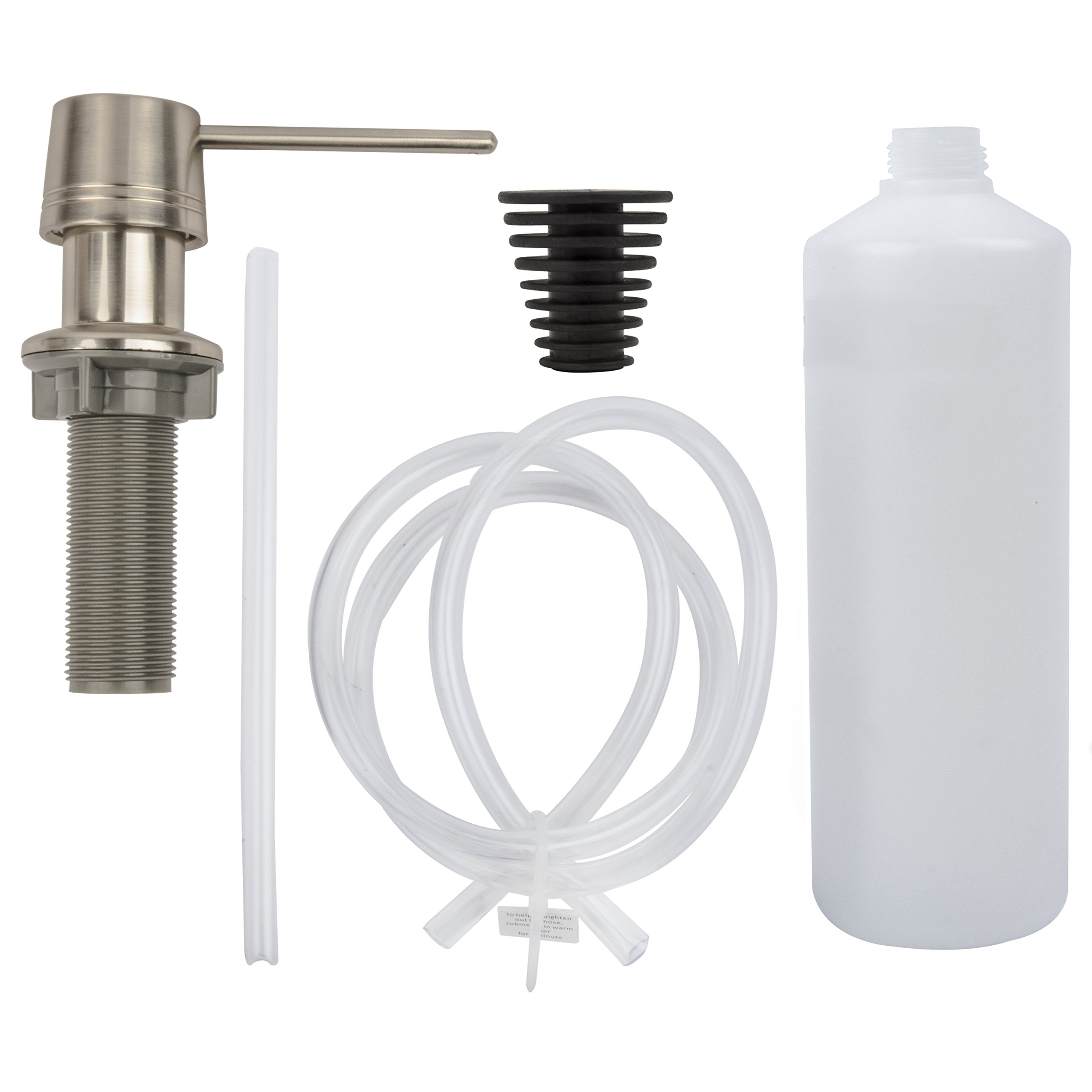 LDR 501 6550SS Deluxe Soap/Lotion Dispenser for Kitchen or Lavatory Sink, Stainless Steel