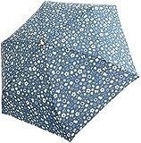 サンマルコ 折りたたみ傘 ミッフィー総柄/ブルー 53cm 2402