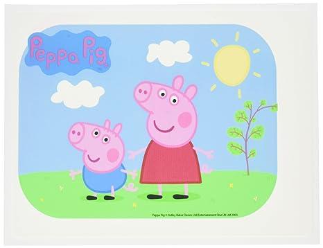 Amazon.com: Panadería Artesanía Peppa Pig imagen Comestible ...