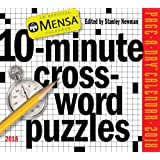 Mensa 10-Minute Crossword Puzzles Page-A-Day Calendar 2018