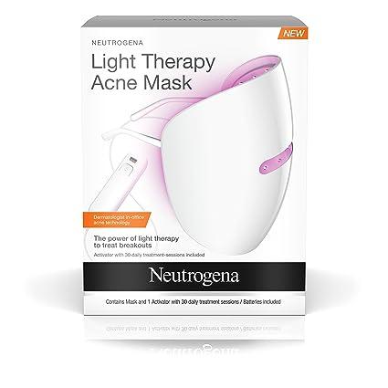 Neutrogena Máscara para acné con terapia de luz, 1.0 KT