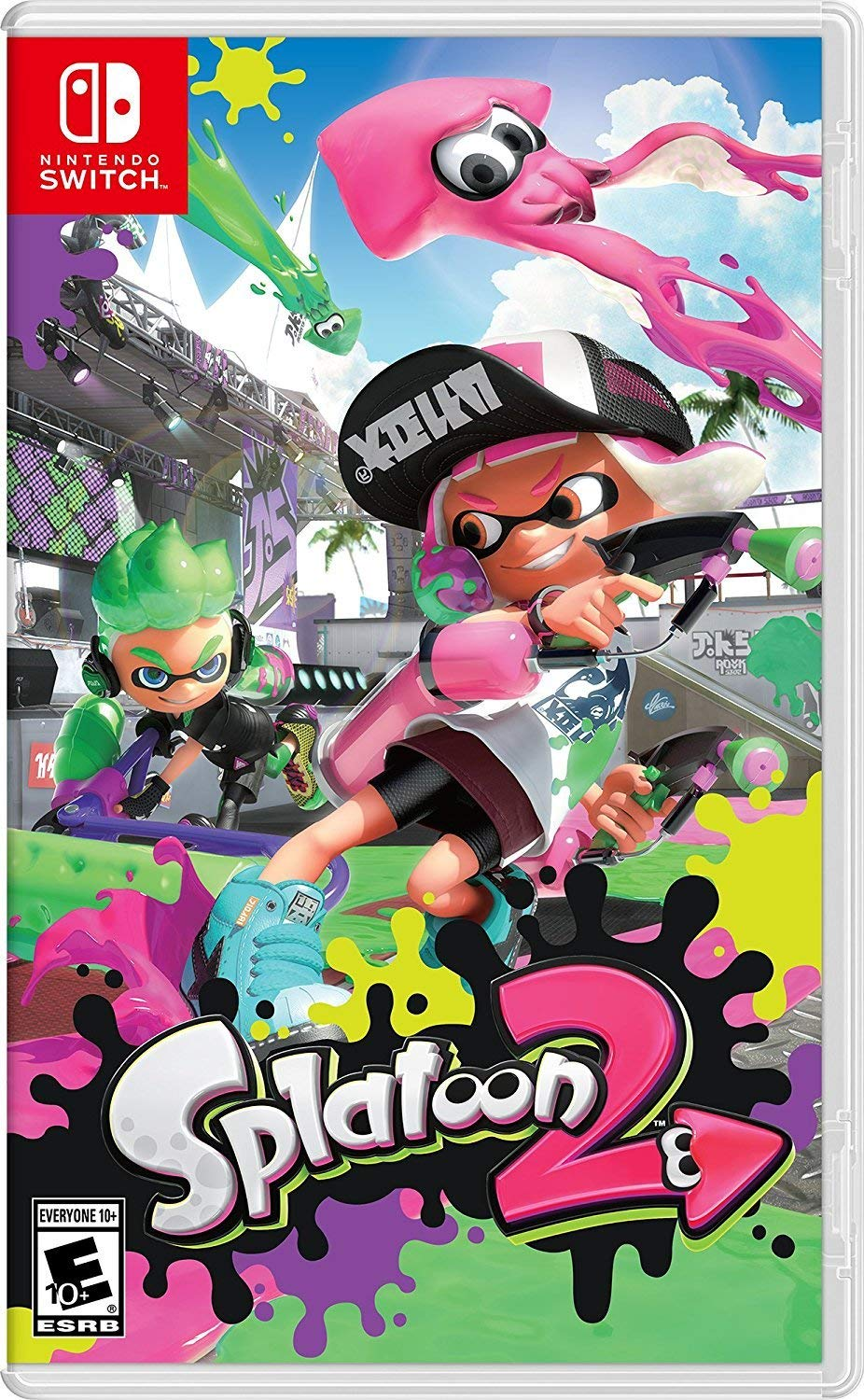 Splatoon 2 for Nintendo Switch [USA]: Amazon.es: Nintendo of America: Cine y Series TV