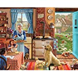White Mountain Puzzles Home Sweet Home - 1000 Piece Jigsaw Puzzle