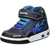 Geox Jr Gregg C, Sneaker a Collo Alto Bambino