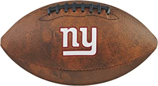 Game Master NFL New York Giants Junior Wilson Throwback Football, 11-Inch, Brown