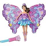 Mattel W4470 - Barbie fata dei fiori, mora