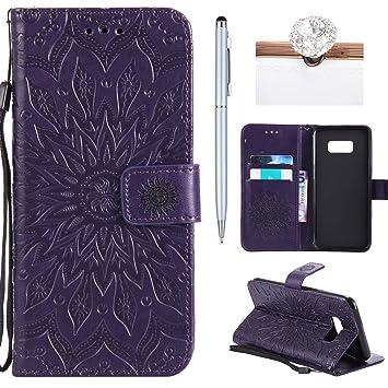 tui Violet avec dragonne Galaxy S8 Plus b4lRFx7J5