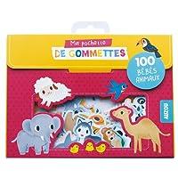 100 gommettes bebes animaux (coll. ma pochette de gommettes)