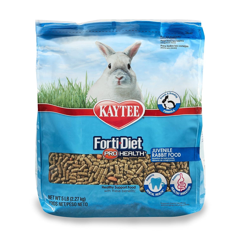 Kaytee forti Diet Pro Health Rabbit Food for Juvenile Rabbits 5-Pound