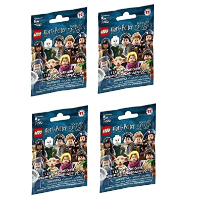 LEGO Harry Potter Fantastic Beasts Minifigure Series - Random Pack of 4 (71022): Toys & Games