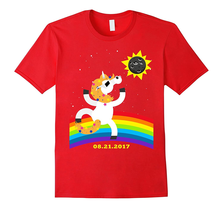 Solar Eclipse Shirt Funny Unicorn Solar Eclipse T-shirt Kids-Art