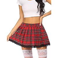 OHQ Jupe /éLastique Crayon pour Femme Noir Violet Rouge Femmes Solide Taille Haute Jupes Longues Evasees Soldes Plisse Courtes Imprimee Skinny Extensible Mince