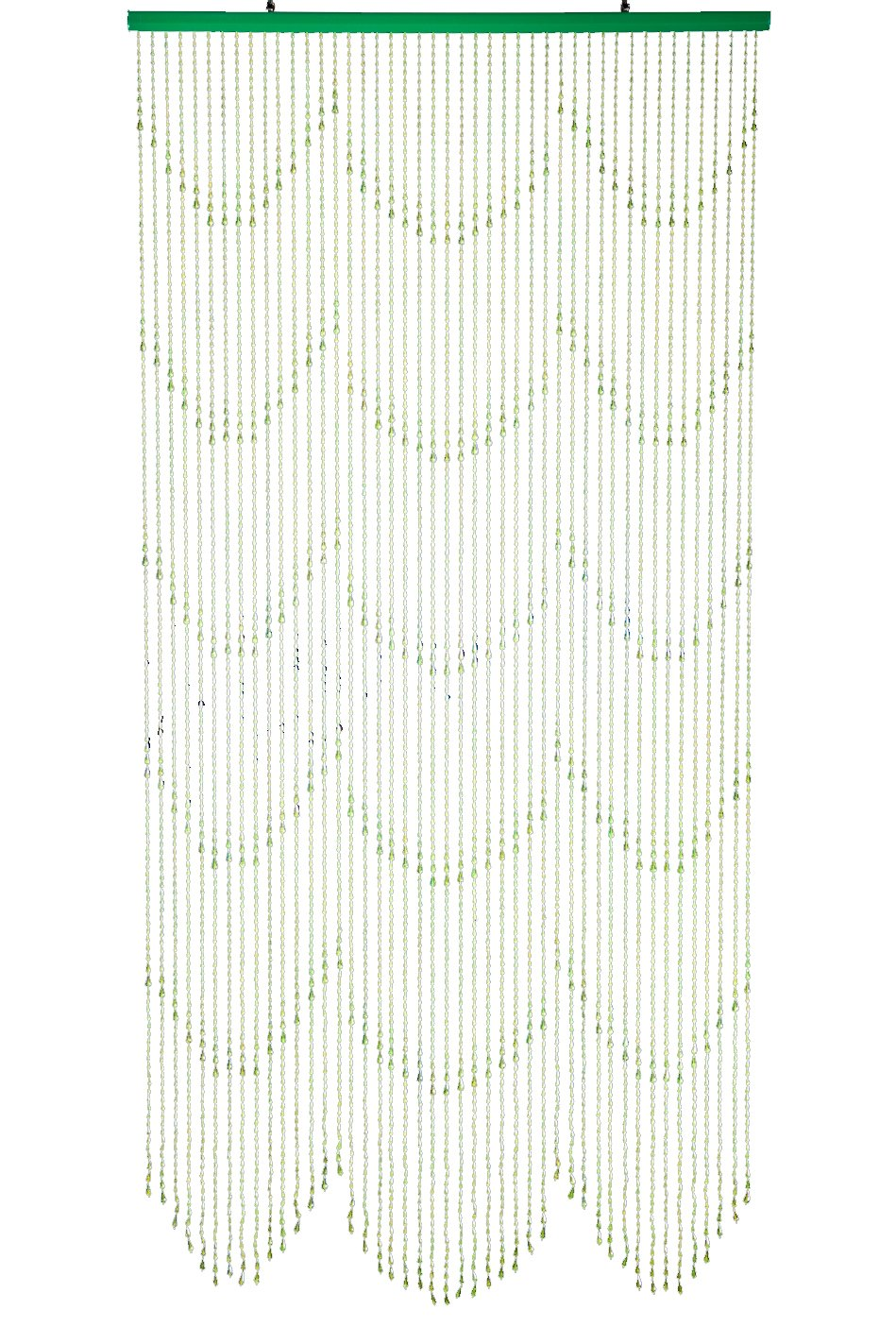 Details about red non iridescent raindrops beaded curtain - Amazon Com Shopwildthings Beaded Curtain Raindrops Green Non Iridescent Acrylic Home Kitchen