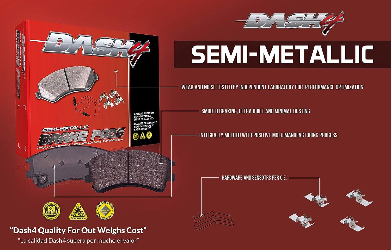 Dash 4 MD1433 Premium Brake Pad Semi-Metallic