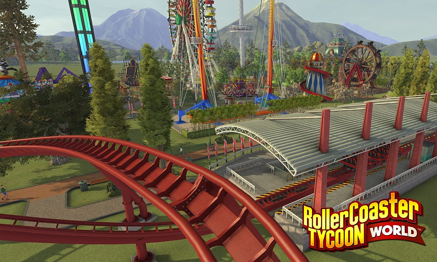 RollerCoaster Tycoon World (PC DVD): Amazon co uk: PC & Video Games