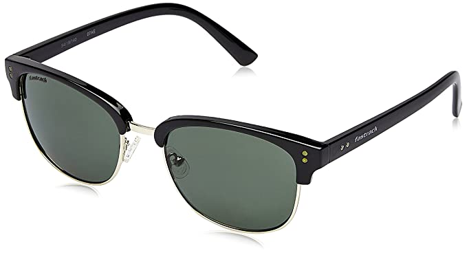 730451f78d Image Unavailable. Image not available for. Colour  Fastrack UV Protected  Browline Clubmaster Men s Sunglasses ...