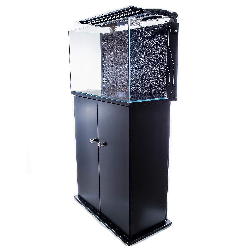 50L Topless Glass Aquarium Fish Tank (50L)