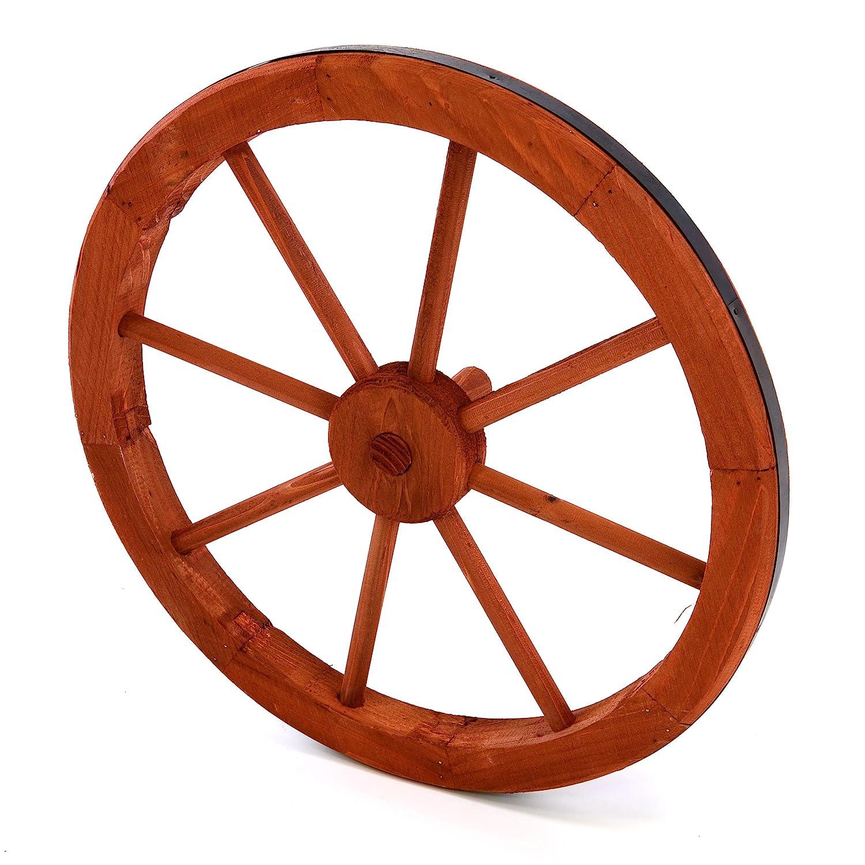 Riesiges Massives Wagenrad Holz Ca Alte Berufe Antiquitäten & Kunst 100 Cm Holzrad Leiterwagen Vintage #1