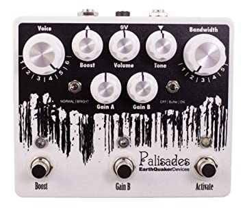 EarthQuaker Devices Palisades · Pedal guitarra eléctrica: Amazon.es: Instrumentos musicales