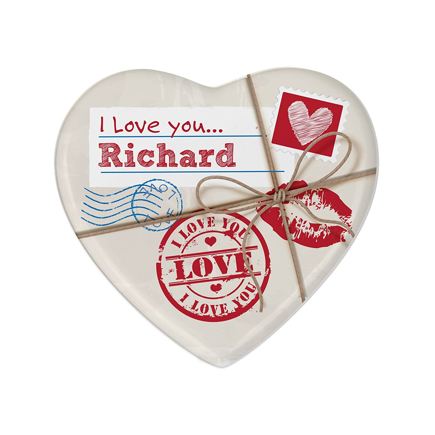 EXCLUSIVE Love Letter Ceramic Heart Coaster - Free
