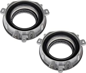 Dorman 600-405 4WD Hub Locking Actuator Delete for Select Ford / Lincoln Models, Black; Silver , Pack of 2 (OE FIX)