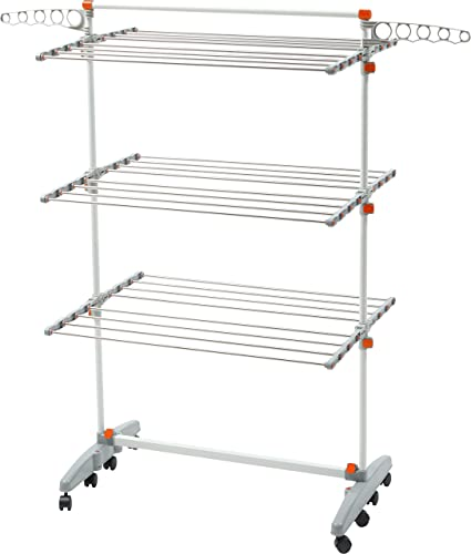 Amazoncom Foldable Rolling Stainless Steel Rods Compact