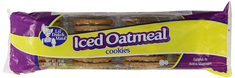 Little Dutch Maid Iced Oatmeal Cookie, 16 Ounce: Amazon.com: Grocery ...