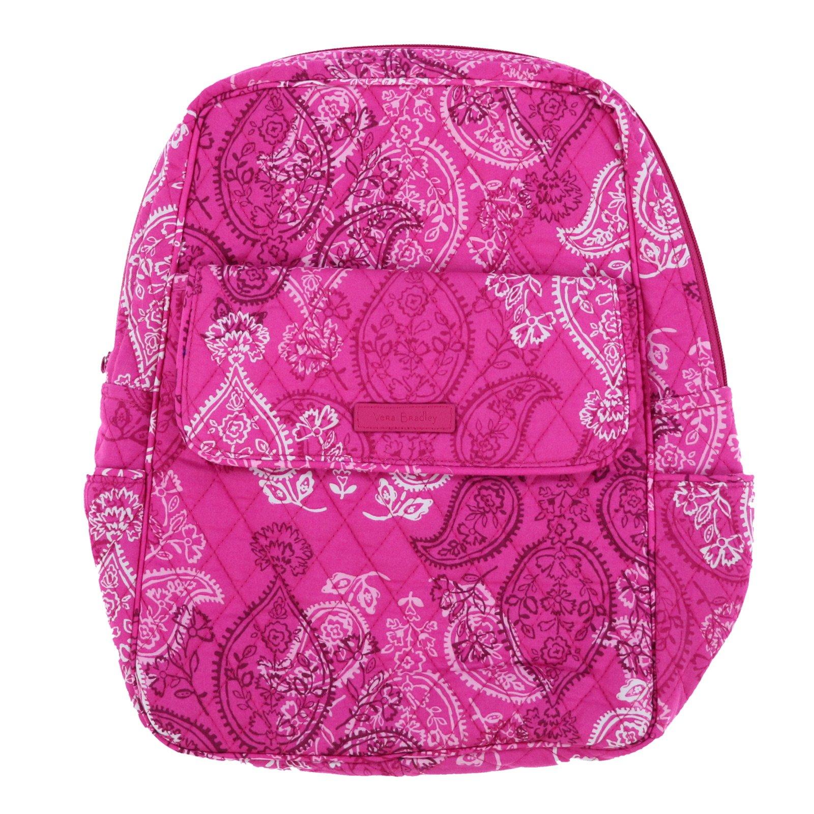 Vera Bradley Backpack (Stamped Paisley) by Vera Bradley